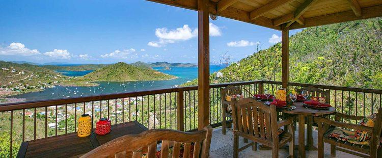 Coral Bay Vista deck